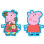 "22"" Peppa Pig SuperShape Foil Balloon (Two Sided)"